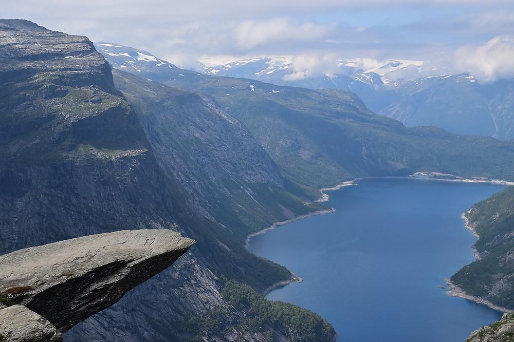 trolltunga norvège