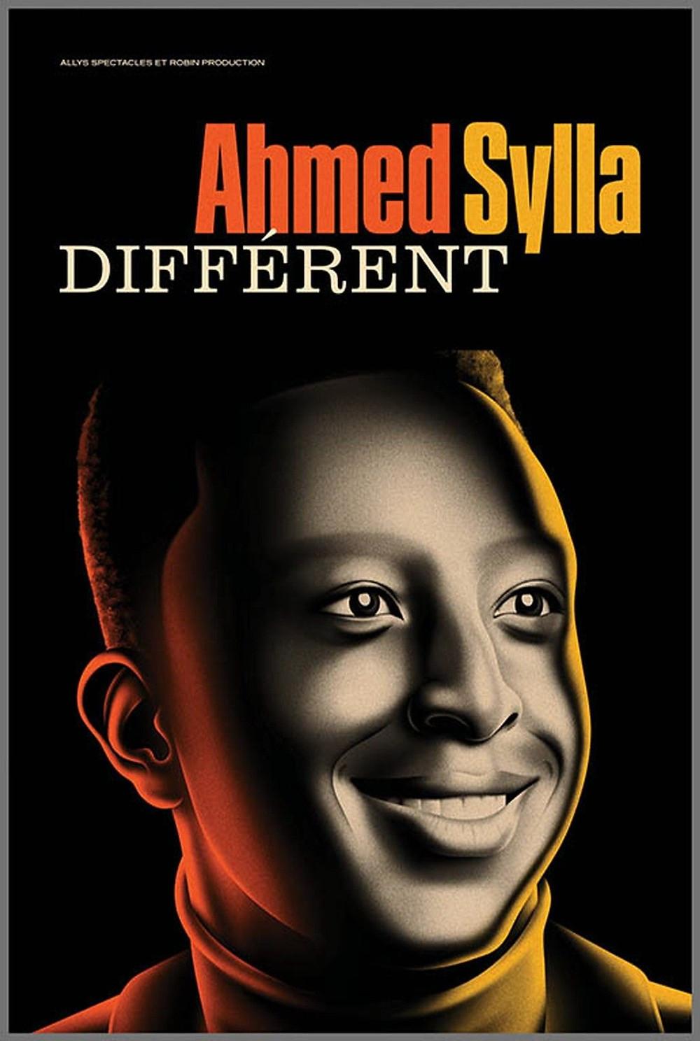 Affiche du dernier spectacle d'Ahmed Sylla. ©Pinterest