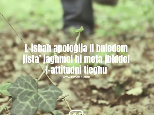 L-Isbaħ Apoloġija