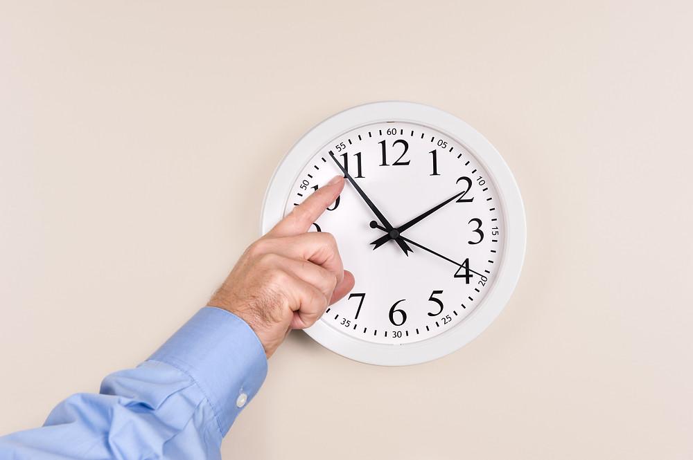 horloge, changement d'heure,