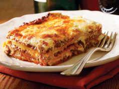 Beef & Pork Lasagna