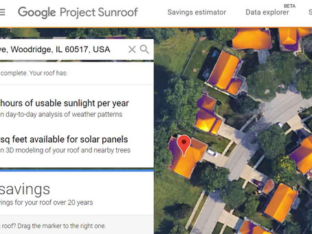 Check your solar potential!