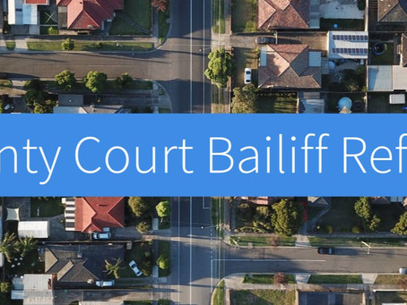 Bailiff reform should be the least controversial aspect of speeding up the court possession process