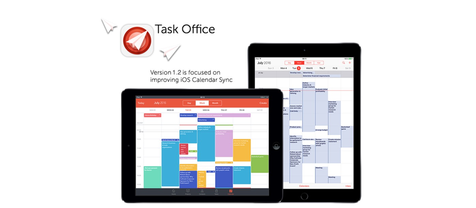 Sync tasks and events from your iOS Calendar to Task Office