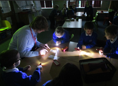 'Light' experiments in Year 3