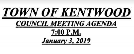 See the January Meeting Agenda
