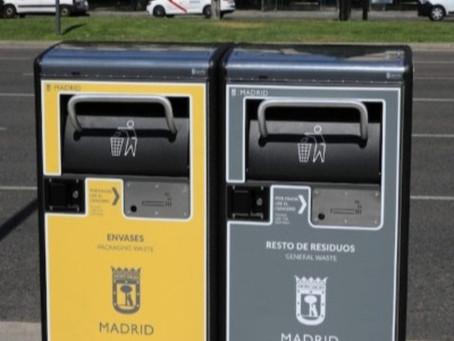 Gestión de Residuos: los nuevos contenedores solares en Madrid