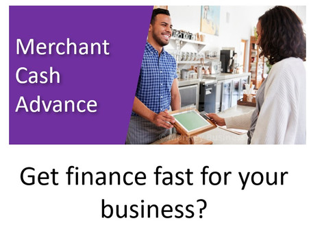 Raise much needed cash from your card machine