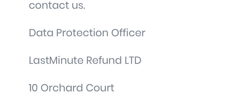 UPDATED!!   LASTMINUTE REFUND LTD – Coincidence??
