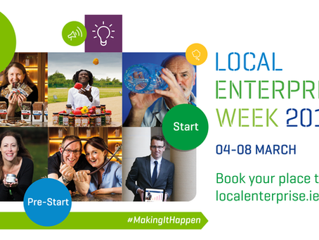 Kickstart Your Business on Local Enterprise Week 2019