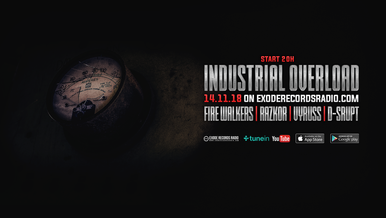 Tonight on Exode Records Radio [Industrial Overload]
