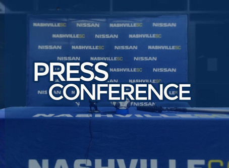 Postmatch Press Conference | Nashville SC 2 - 1 Louisville City
