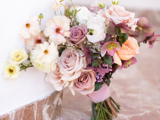 Rancho Las Lomas Spring Wedding Flowers
