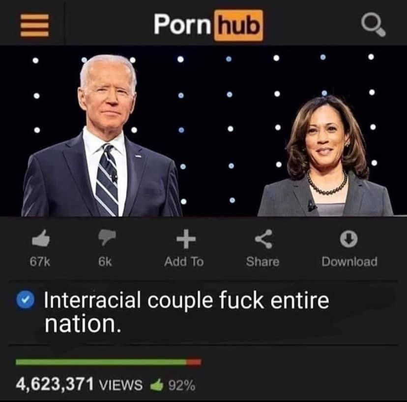 Pornhub interracial couple fucks entire nation