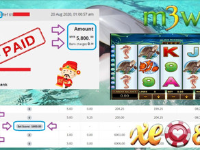 DolphinReef slot game tips to win RM5800 in XE88