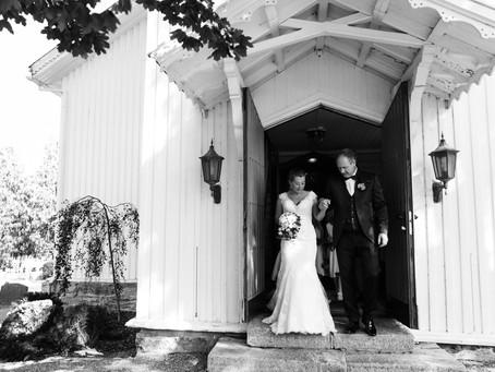 Augustbryllup på Helgøya |Karianne & Thorvald