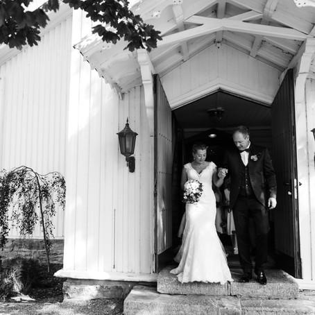 Augustbryllup på Helgøya  Karianne & Thorvald