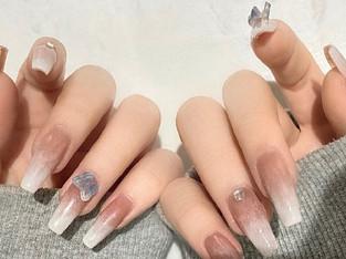 【最新】「蝶々ネイル」が中国女子に大人気♡立体バタフライパーツジェルネイル画像集♡