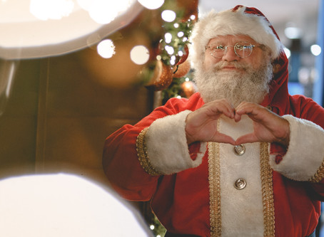 Santa really is coming to town and he is starring in the city's first-ever lighted Christmas parade.