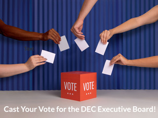 DEC Executive Board Elections Are Now Open