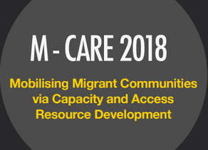M-CARE 2018: SHARING THE OUTCOMES OF THE MIGRANT ADVOCATES TRAINING PROGRAMME