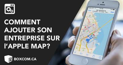 Créer sa page d'entreprise sur l'Apple Maps - Cours de référencement