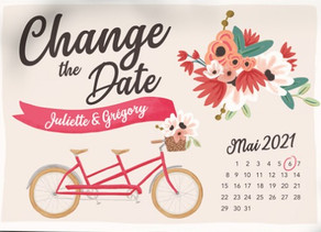 CHANGE THE DATE !