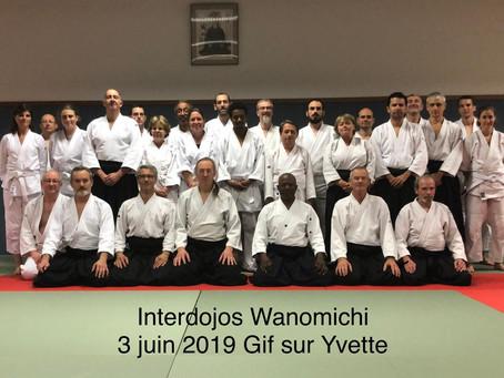 Stage Inter-dojos 3 Juin 2019 à Gif
