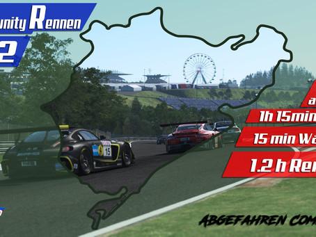 rF2-CR 62 | GT3 + M2 CS Racing @ Nürburgring Endurance Series