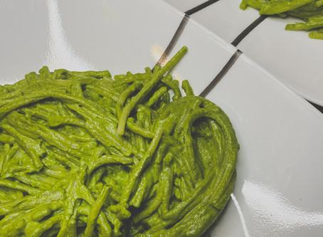"""7-Ingredient """"Pesto"""" Pasta"""