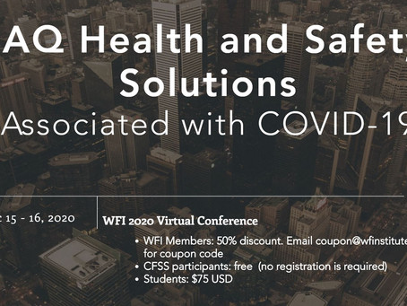 IAQ Health and Safety Solutions, Early Rate Ends This Weekend 11/15