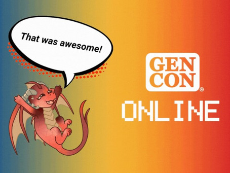 Thoughts from a Virtual GenCon