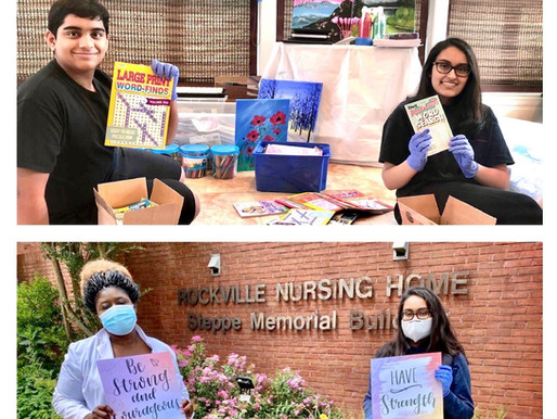 Rockville Nursing Home Outreach - June 2020