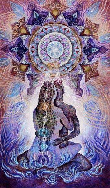 Le Tantra nous initie à la sexualité sacrée qui ouvre à l'acte sexuel le chemin de l'extase.
