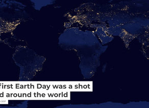 The first Earth Day was a shot heard around the world