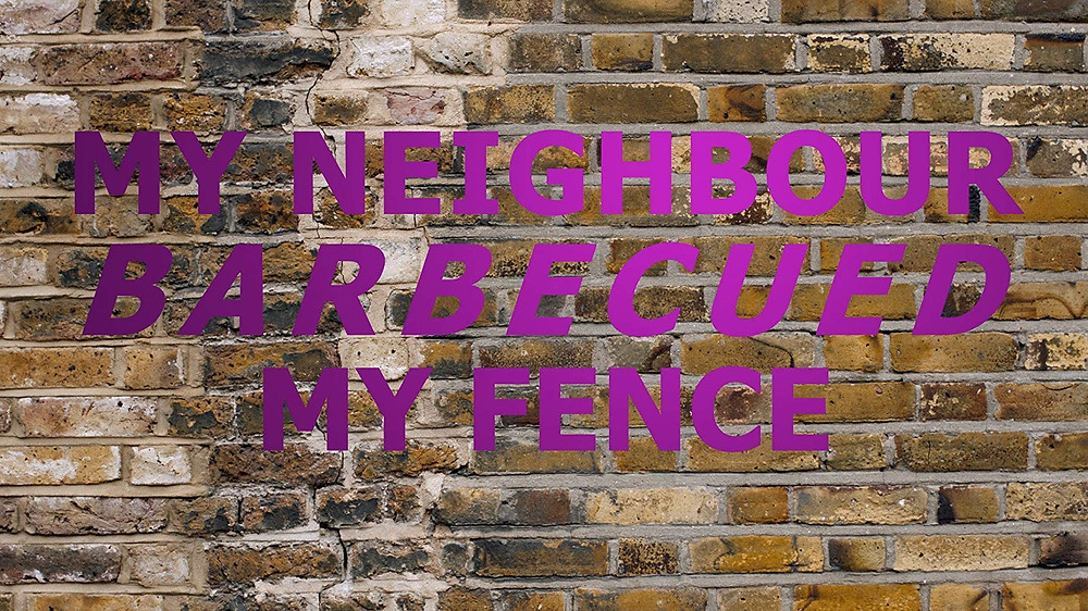My Neighbour Barbecued My Fence short film review