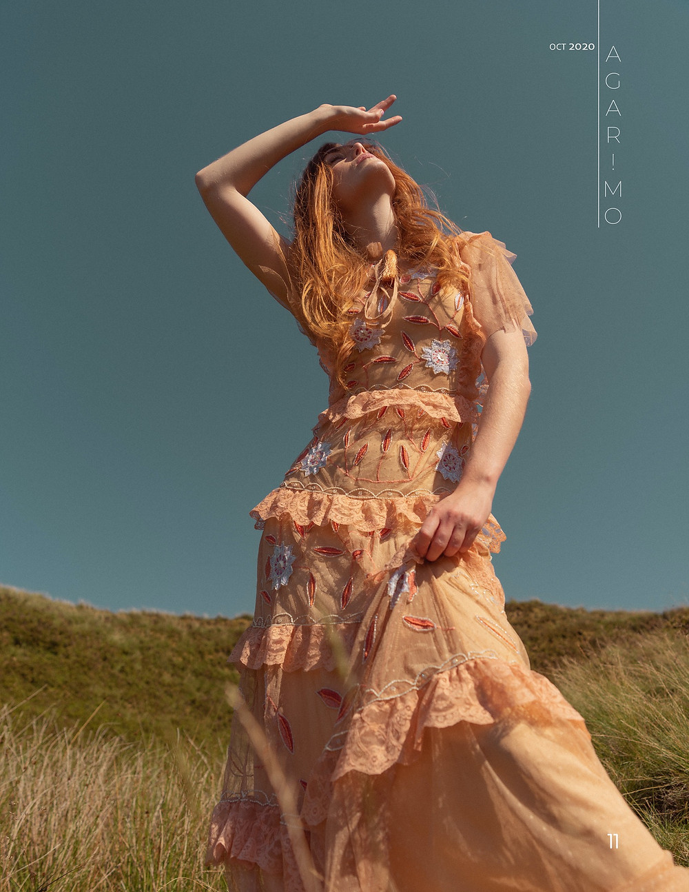 Fashion Photography by Jana Kukebal | Location shoot in Peak District