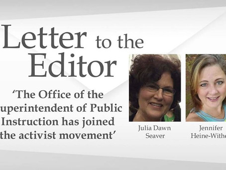 The Office of The Superintendent of Public Education Has Joined the Activist Movement.