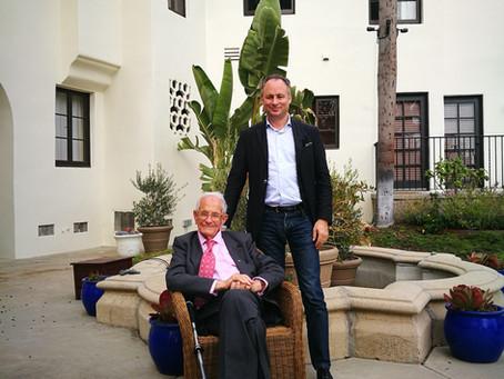 """""""Hitler, mon voisin"""", entretien avec Feuchtwanger et Scali en plein confinement (Times of Israël)"""