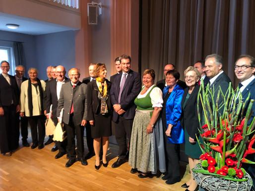 Festabend zum 100-jährigen der Stadt Penzberg mit Ministerpräsident Söder