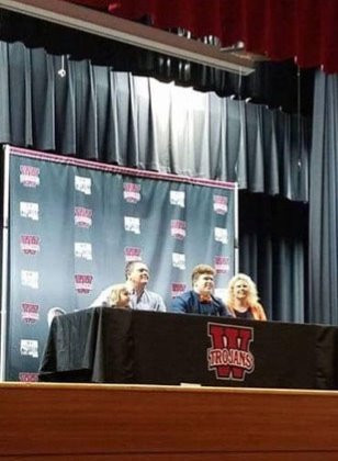 Jacob Greene signs for four years with Carson Newman.