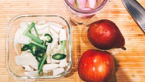 Simple Dongchimi - Korean water radish kimchi
