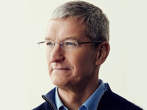 Patrimônio líquido do CEO da Apple, Tim Cook, ultrapassa US$ 1 bilhão
