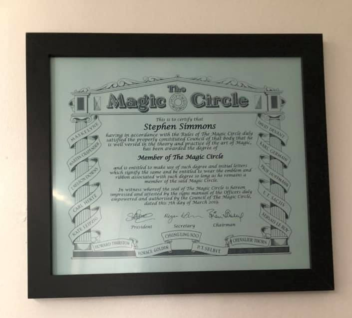 Join the magic circle