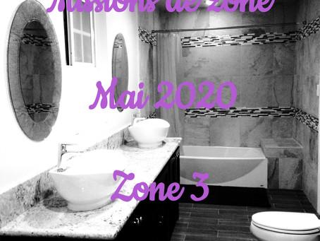 Zones : Missions semaine 20 - Zone 3