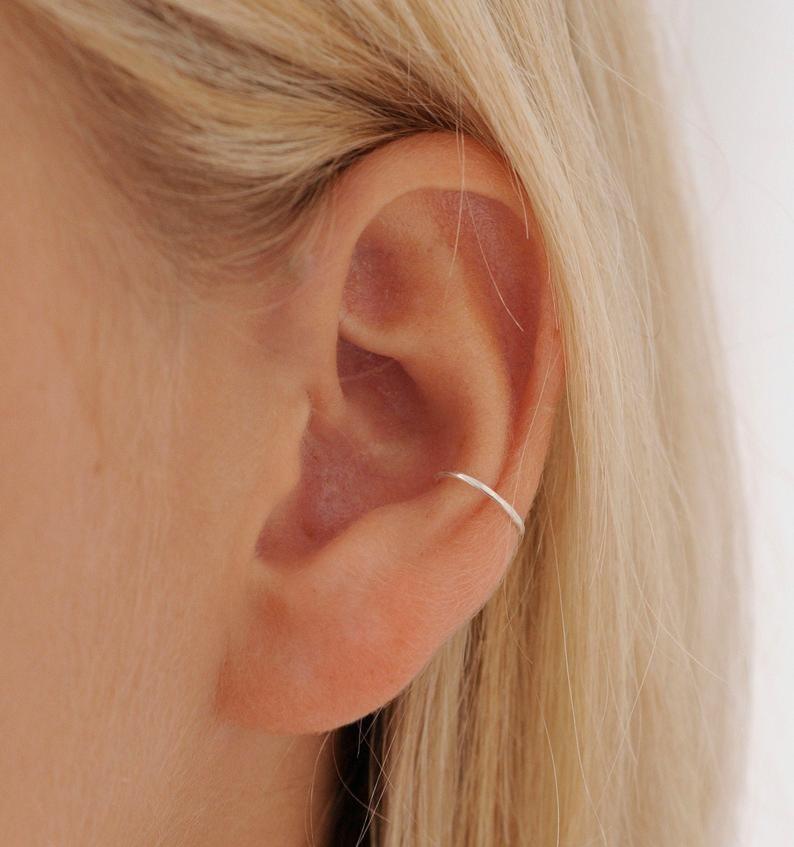 Conch Hoop Earring