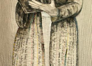 Creating an Art Quilt for Clara Foltz