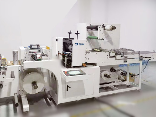How to cut the IML label as easy as the pressure-sensitive label? Half-cutting system is the answer.