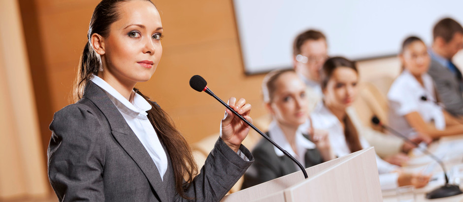 Speaker's Podium: Two Experts Share Their Presentation Tips
