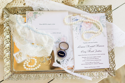 wedding day details auburn